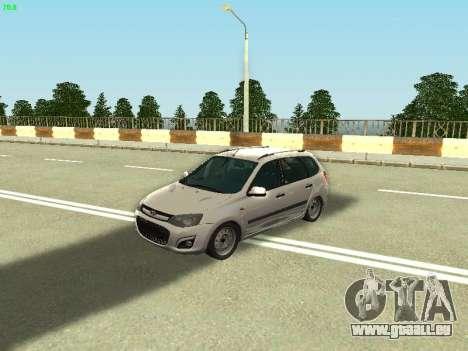 Lada Kalina 2 Wagon pour GTA San Andreas