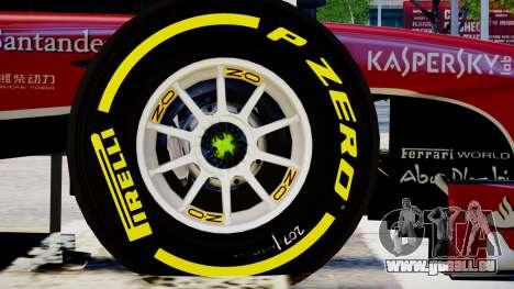 Ferrari F138 v2 für GTA 4 Rückansicht