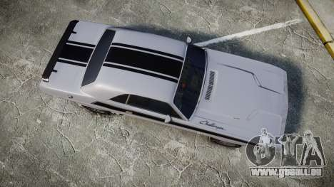 Dodge Challenger 1971 v2.2 PJ3 pour GTA 4 est un droit