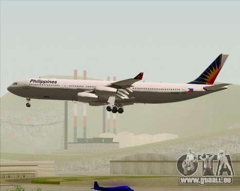 Airbus A340-313 Philippine Airlines für GTA San Andreas