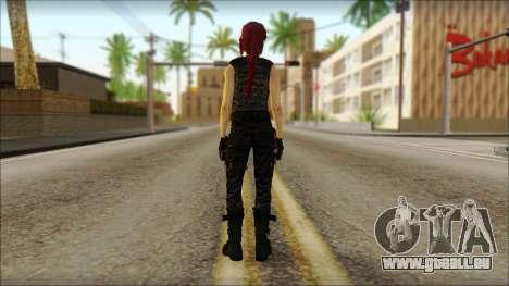 Tomb Raider Skin 14 2013 pour GTA San Andreas deuxième écran