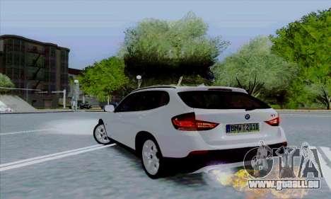 Bmw X1 pour GTA San Andreas vue arrière