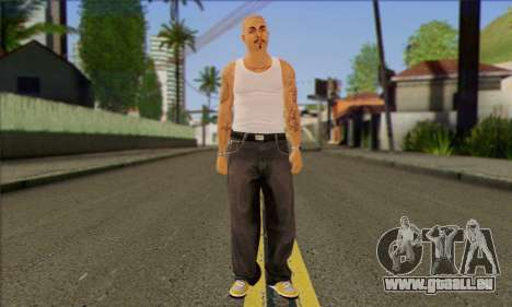Vagos from GTA 5 Skin 2 pour GTA San Andreas