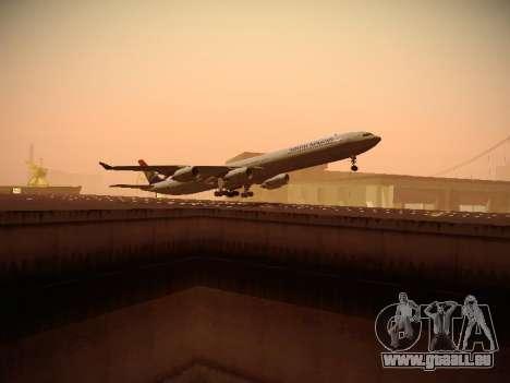 Airbus A340-600 South African Airways pour GTA San Andreas vue de droite