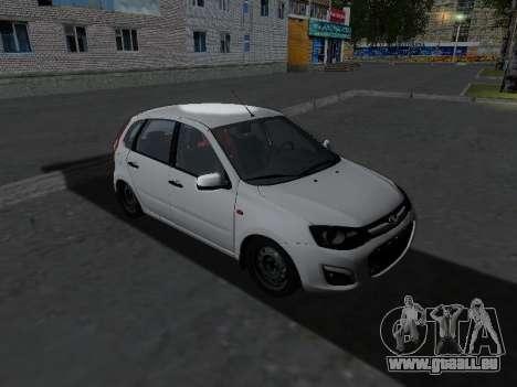 Lada Kalina 2 pour GTA San Andreas