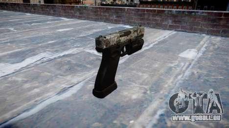 Pistolet Glock 20 ghotex pour GTA 4 secondes d'écran