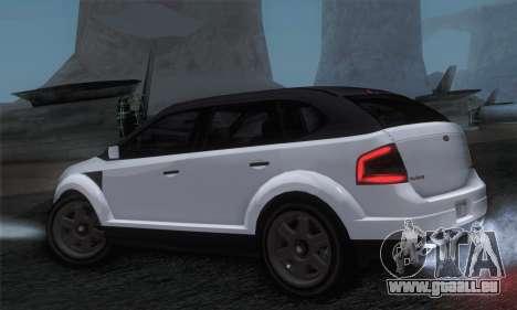 Vapid Radius 1.0 (IVF) pour GTA San Andreas laissé vue
