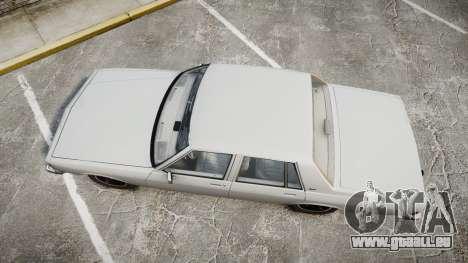 Chevrolet Impala 1985 für GTA 4 rechte Ansicht