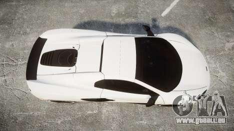 McLaren 650S Spider 2014 [EPM] Bridgestone v3 pour GTA 4 est un droit