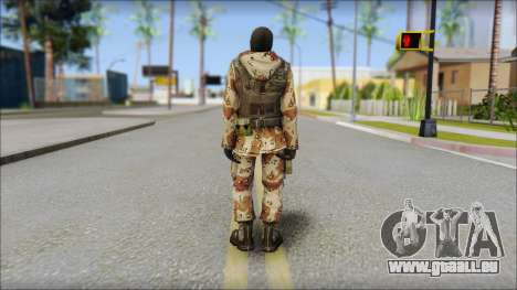 Soviet Soldier für GTA San Andreas zweiten Screenshot