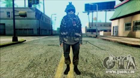 Soldaten airborne (CoD: MW2) v5 für GTA San Andreas