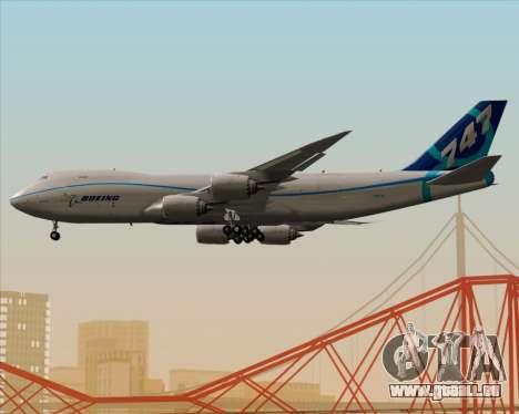 Boeing 747-8 Cargo House Livery pour GTA San Andreas vue de dessous