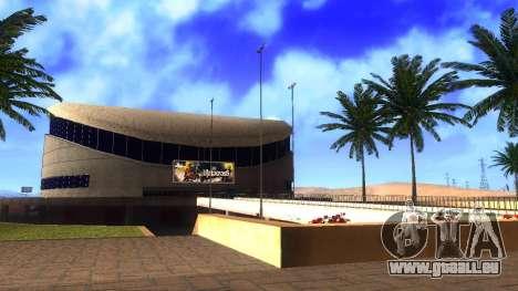 Textures HD stadium de Las Venturas pour GTA San Andreas troisième écran