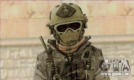 Task Force 141 (CoD: MW 2) Skin 1 für GTA San Andreas dritten Screenshot
