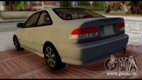 Honda Civic Si 1999 für GTA San Andreas linke Ansicht
