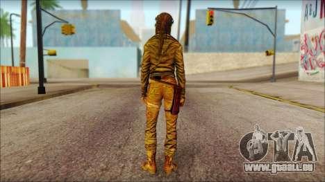 Tomb Raider Skin 6 2013 pour GTA San Andreas deuxième écran