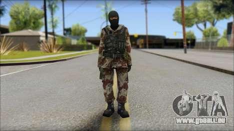 Soviet Soldier für GTA San Andreas