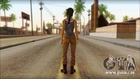 Tomb Raider Skin 11 2013 pour GTA San Andreas deuxième écran