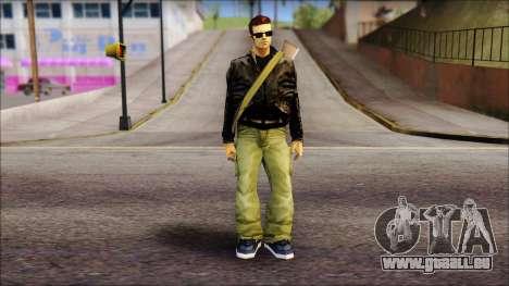 Shades and Gun Claude v2 pour GTA San Andreas