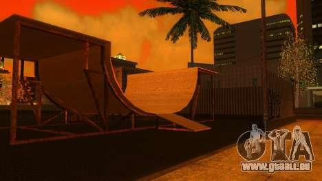 Textures HD skate Park et de l'hôpital V2 pour GTA San Andreas huitième écran