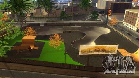 Textures HD skate Park et de l'hôpital V2 pour GTA San Andreas septième écran