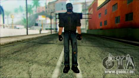 Manhunt Ped 18 pour GTA San Andreas