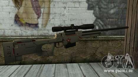 Sniper Rifle from PointBlank v2 für GTA San Andreas zweiten Screenshot