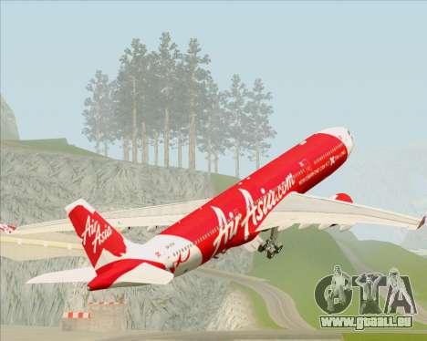 Airbus A330-300 Air Asia X für GTA San Andreas Räder