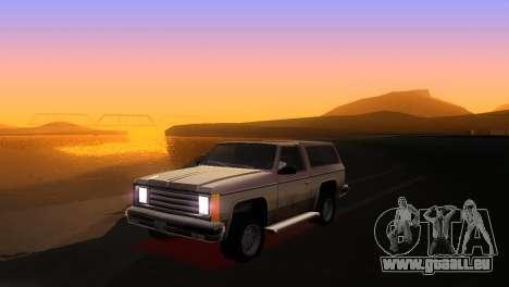 Bright ENB Series v0.1 Alpha by McSila pour GTA San Andreas deuxième écran