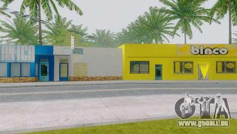 Neue Texturen für Binco auf die grove street für GTA San Andreas dritten Screenshot