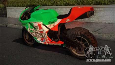 Bati RR 801 Stronzo pour GTA San Andreas laissé vue