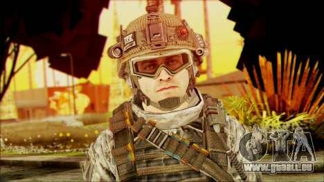 Ranger (CoD: MW2) v4 pour GTA San Andreas troisième écran