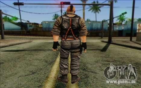 Les soldats de la Rogue Warrior 2 pour GTA San Andreas deuxième écran
