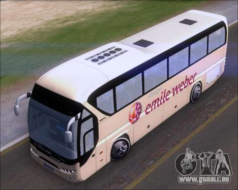 Neoplan Tourliner Emile Weber für GTA San Andreas Rückansicht