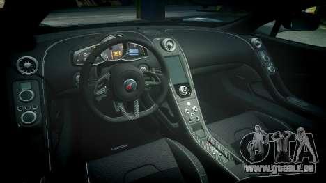 McLaren 650S Spider 2014 [EPM] Bridgestone v3 pour GTA 4 est une vue de l'intérieur
