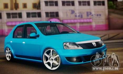 Dacia Logan 1.6 pour GTA San Andreas