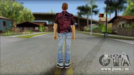Marty from Back to the Future 1955 pour GTA San Andreas deuxième écran