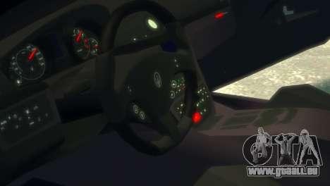 Maserati Gran Turismo MC Stradale 2014 für GTA 4 Innenansicht