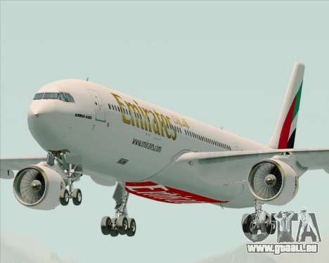 Airbus A330-300 Emirates pour GTA San Andreas