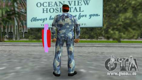 Camo Skin 11 GTA Vice City pour la troisième écran