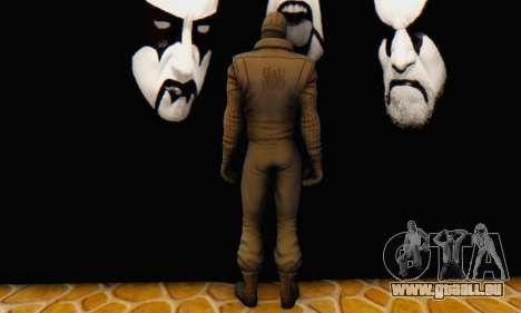 Skin The Amazing Spider Man 2 - DLC Noir pour GTA San Andreas cinquième écran