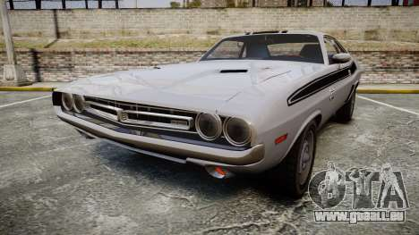 Dodge Challenger 1971 v2.2 PJ3 pour GTA 4