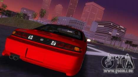 Nissan Silvia S14 RB26DETT Black Revel pour GTA Vice City vue latérale