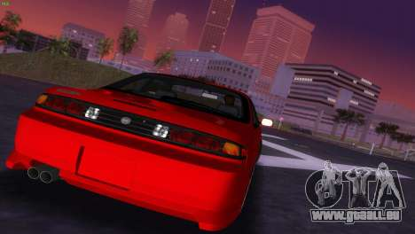 Nissan Silvia S14 RB26DETT Black Revel für GTA Vice City Seitenansicht