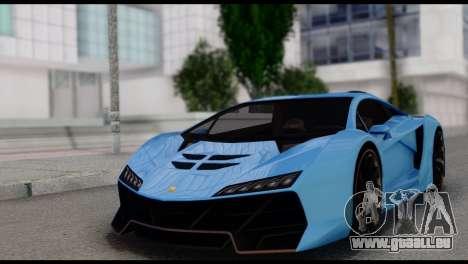 Pegassi Zentorno für GTA San Andreas