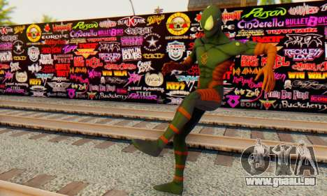 Skin The Amazing Spider Man 2 - DLC Anti-Electro für GTA San Andreas her Screenshot