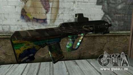 AUG A3 from PointBlank v3 für GTA San Andreas zweiten Screenshot