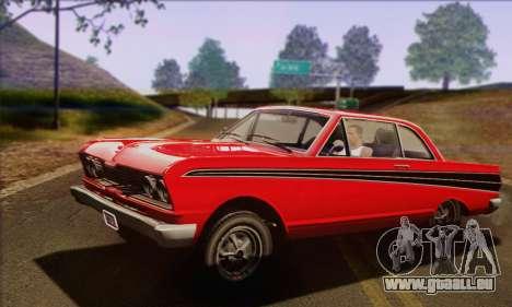 GTA V Blade pour GTA San Andreas sur la vue arrière gauche