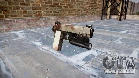 Pistolet Kimber 1911 Choco pour GTA 4