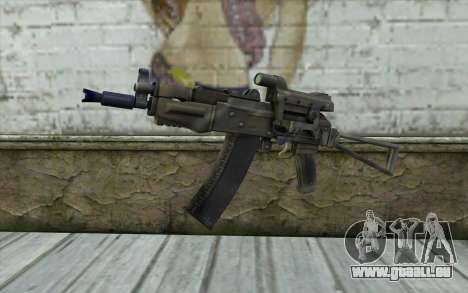 AK74U from Battlefield 2 pour GTA San Andreas